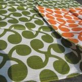 Junge Sprossen grün/orange