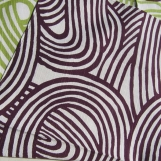 Knoten lila/grün