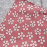 Pflaumen Rikyu rosa/blau